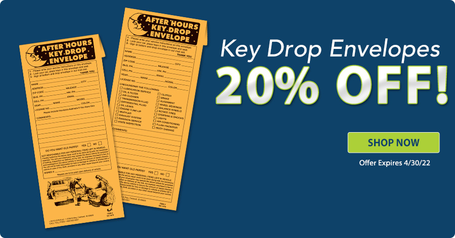 20% Off Keydrop Envelopes!!
