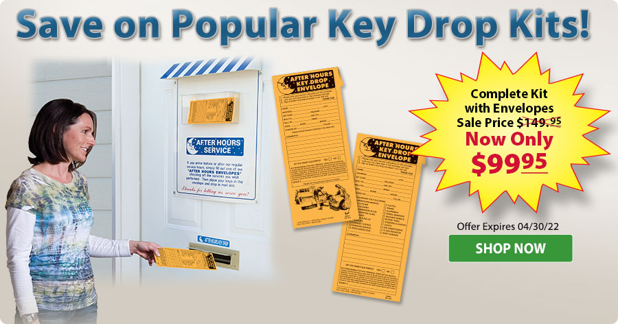 Special Pricing on Key Drop Kits!