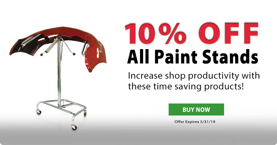 10% Off All Paint Stands!