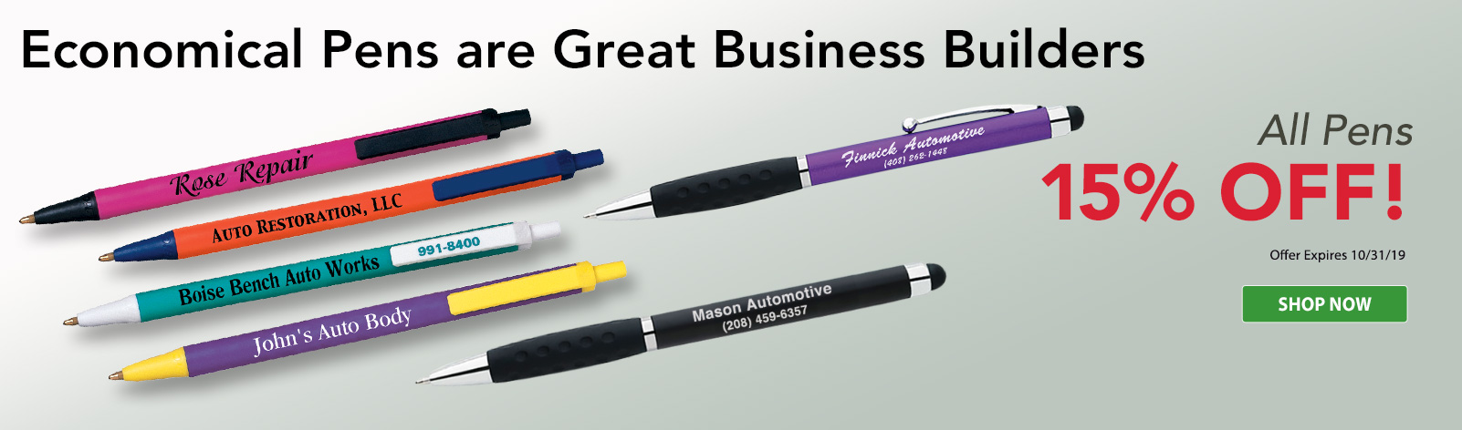 Personalized Pens