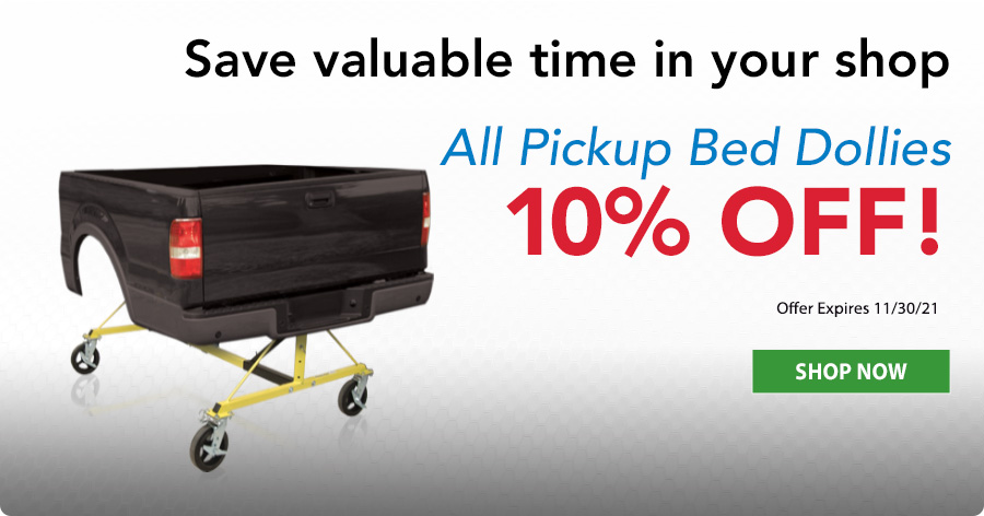 10% Off Pickup Bed Dollies