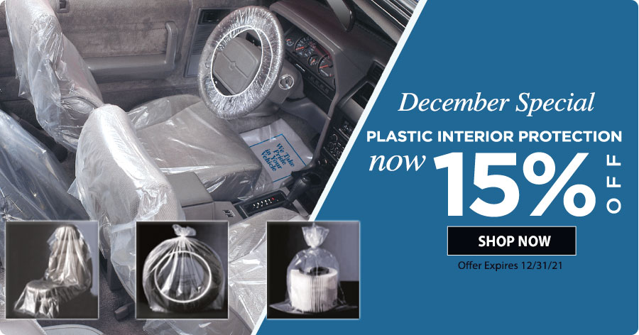 15% Off Protective Plastics!!