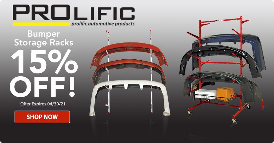 15% Off All PROLific Storage Racks!