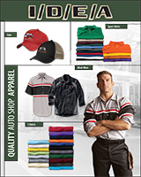 Auto Repair Apparel E-Catalog