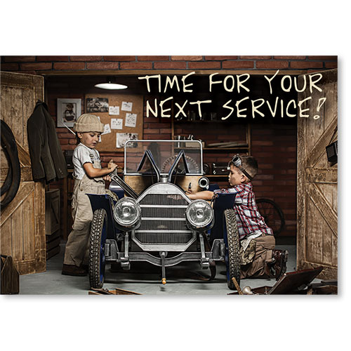 Auto Shop Postcard Service Reminders - Design 2