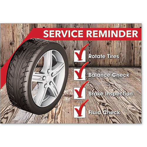 Automotive Postcard Response - Service Reminder