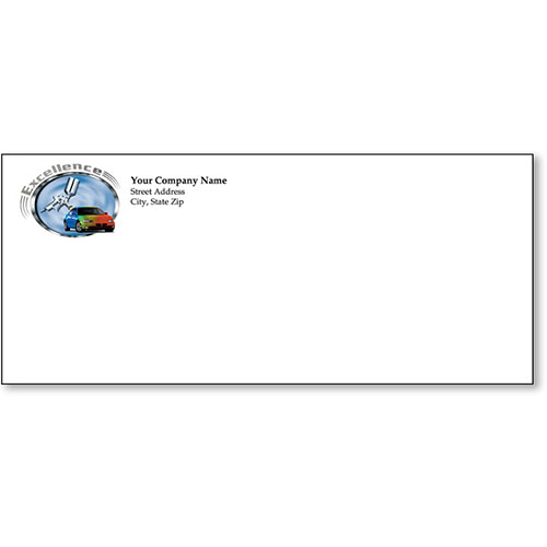 Stationery Envelope - Colors of Excellence