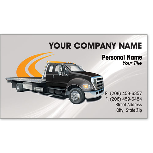 Designer Business Card -Pathway Towing