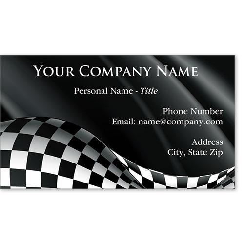 Designer Business Card -Winner's Falg