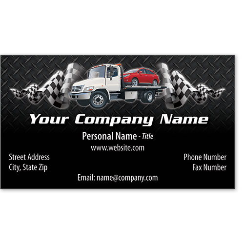 Designer Business Card -Tartan Towing