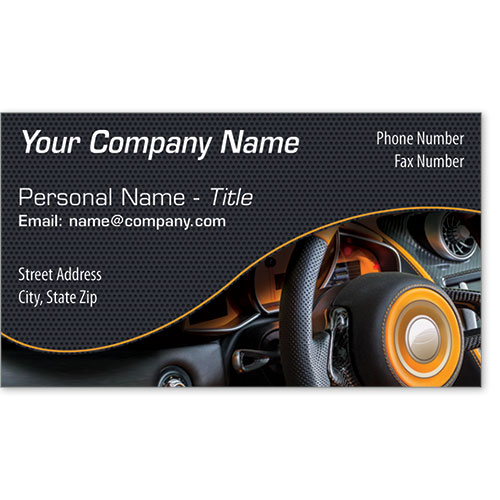 Designer Business Card -Dashboard