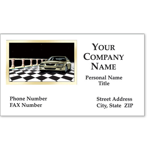 Business Card Foil - Showroom Classic