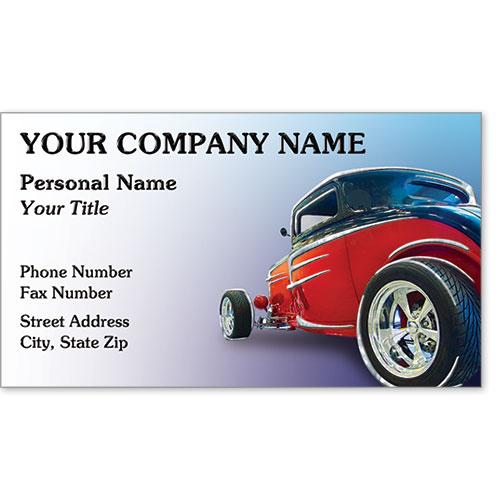 Business Card Foil - Rebel Roadster
