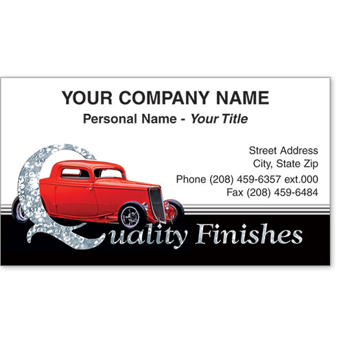 Business Card Foil - Quality Finishes