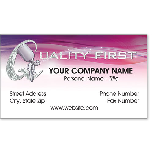 Business Card Foil - Quality Atomizer
