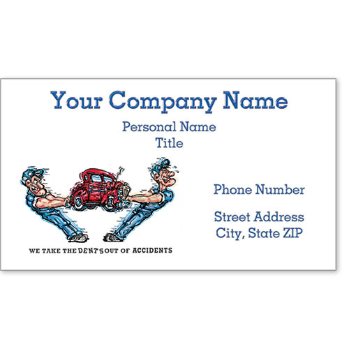 Premier Business Card - Dents Out