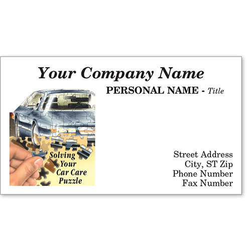 Premier Business Card - Puzzle