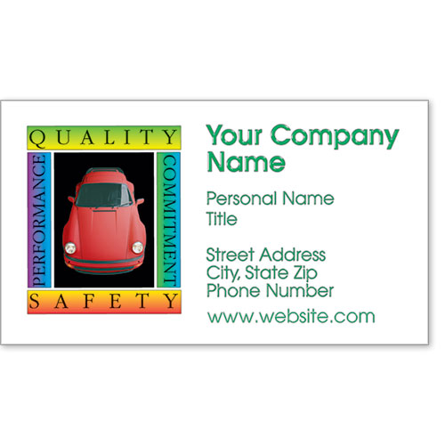 Premier Business Card - Quality Safety
