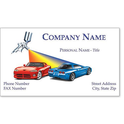 Premier Business Card - Rainbow Duo