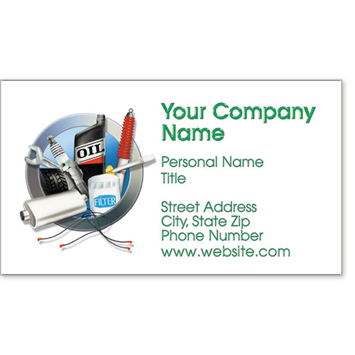 Premier Business Card - Circle of Service