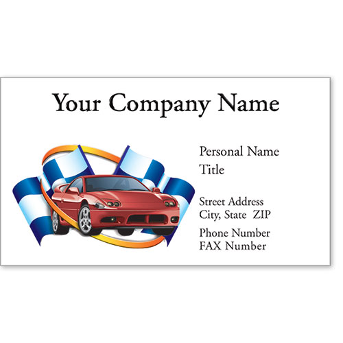 Premier Business Card - Winner's Circle
