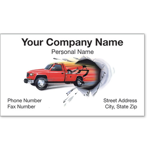 Premier Business Card - Breakthrough Towing