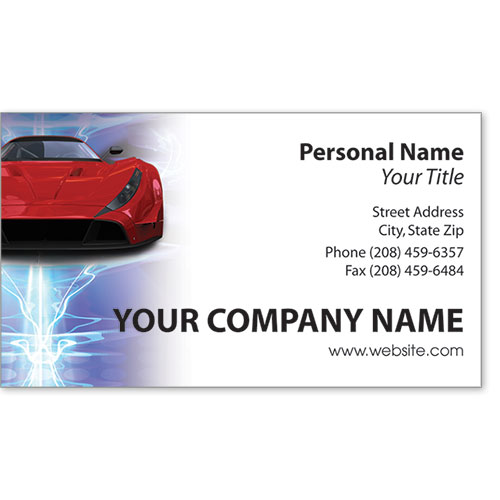 Premier Business Card - Shock Waves