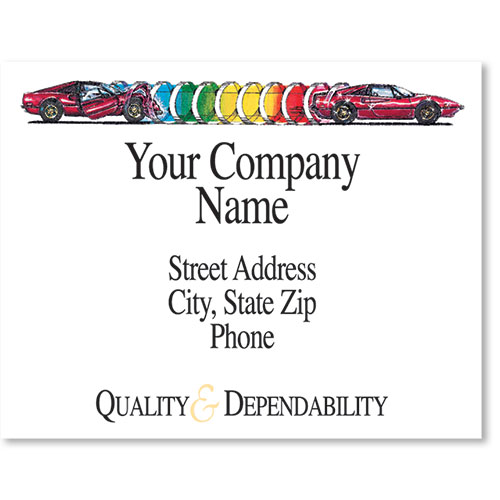 Personalized Full-Color Paper Floor Mats - Quality & Dependability