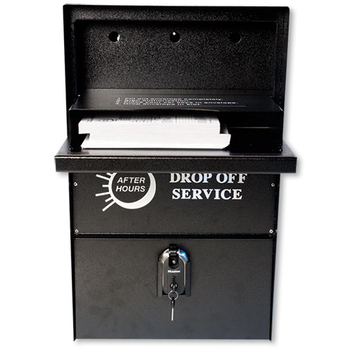 Night Drop Box Wall Mount Car Key Drop Box Auto Supply