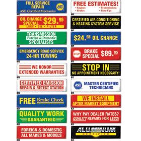 Auto Repair Shop Signs >> Giant 10 X 3 Banner Auto Body Shop Vinyl Banners