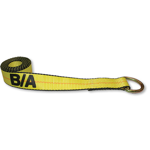 """B/A 2"""" x 8' Strap With D-Ring"""