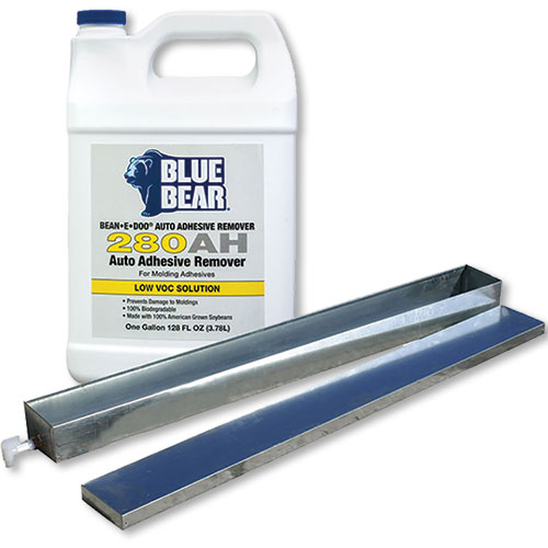 Blue Bear BEAN-e-doo Auto Adhesive Remover with Steel Tray and Lid 280AH