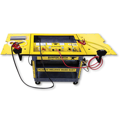 The bumper smith eliminator nitrogen welding station