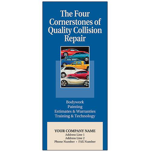 Auto Repair Brochures - 4 Cornerstones of Quality Collision Repair