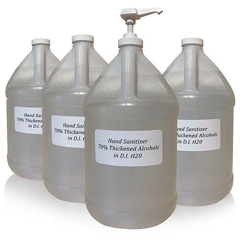 Bulk Hand Sanitizer (1-Gallon, Case of 4)
