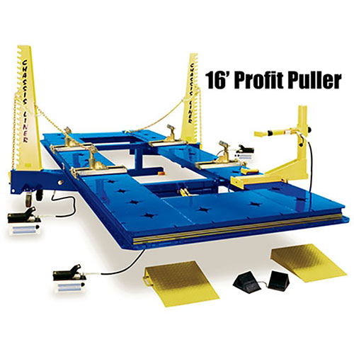 Chassis Liner Profit Puller 16' 2-Tower 360-Degree Frame Rack 832171