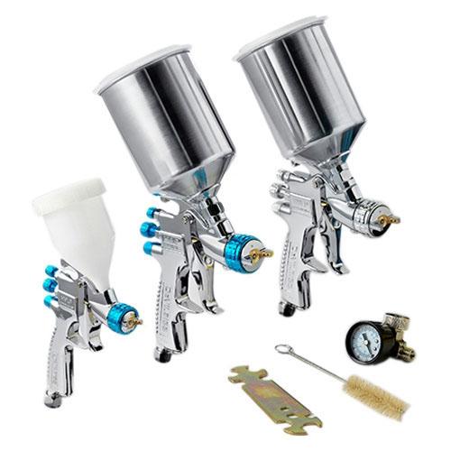 DeVilbiss StartingLine HVLP Painting, Priming & Touch-up Paint Gun Kit 802789