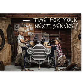 Auto Shop Postcard Service Reminders - Design 2