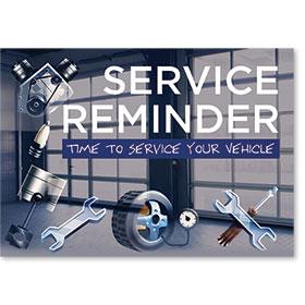 Auto Shop Postcard Service Reminders - Design 3