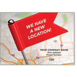 Automotive Postcard Response - We Have a New Location