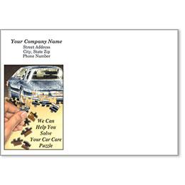 Full-Color Auto Repair Postcards - Service Reminder