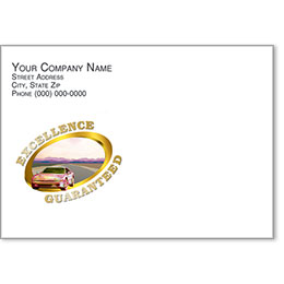 Full-Color Auto Repair Postcards - Excellence Guaranteed