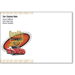 Full-Color Auto Repair Postcards - Quality Service & Repair