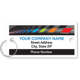 Personalized Full-Color Key Tags - Color Check