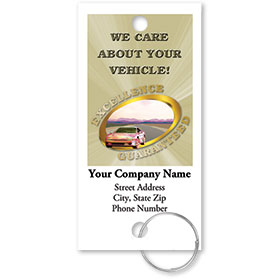 Personalized Full-Color Key Tags - Excellence Guaranteed