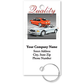 Personalized Full-Color Key Tags - Quality