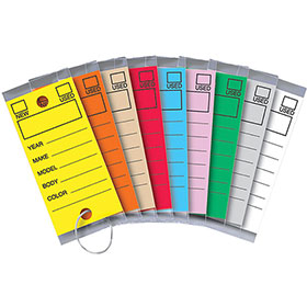 Versa Tags Laminated Key Tags