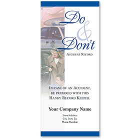 Auto Brochures - Do & Don't II