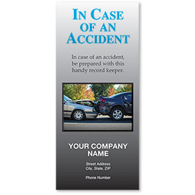 Auto Brochures - In Case of Accident