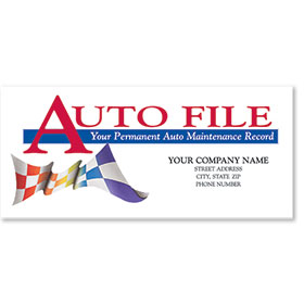 Full-Color Auto Files - Checkered Flag withou Gun